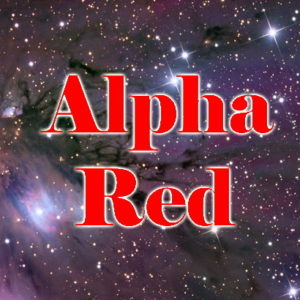 Alpha Red Sci-Fi Novel